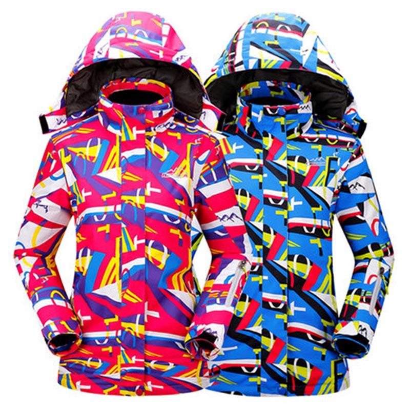 2016 New Womens Ski Suit Winter Outdoor Sports Jacket Snowboard Female Snow Wear Ladies Skiing & Skating Jacket Coats(China (Mainland))