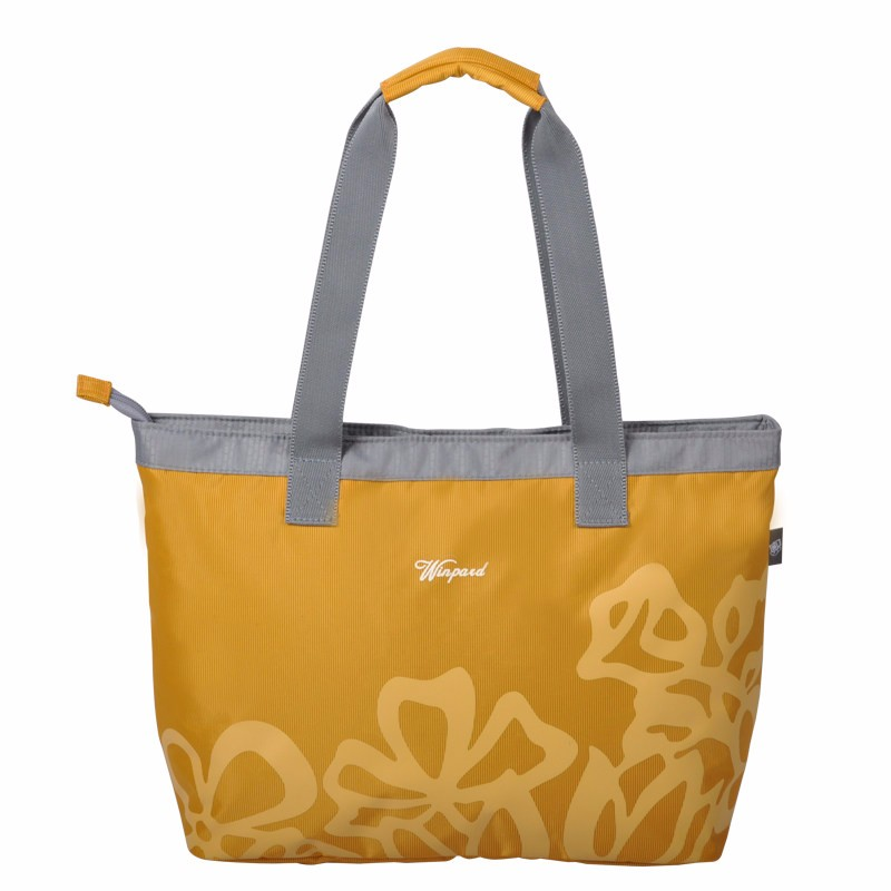 Women Classy Printing Nylon Tote Bag Practical Superllight Casual Shoulder Bag Fashion Simple Contrast Color Hand-held Bag