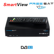 Genuine] Freesat V7 Max DVB-S2 Satellite TV Receiver Support PowerVu Biss Key Cccamd Newcamd Youtube Youporn set top box