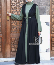 long dress muslim kj 2015 muslim women dress pictures rayon Fabric muslim long sleeve maxi dress (two-piece)KJ-WAB30020(China (Mainland))