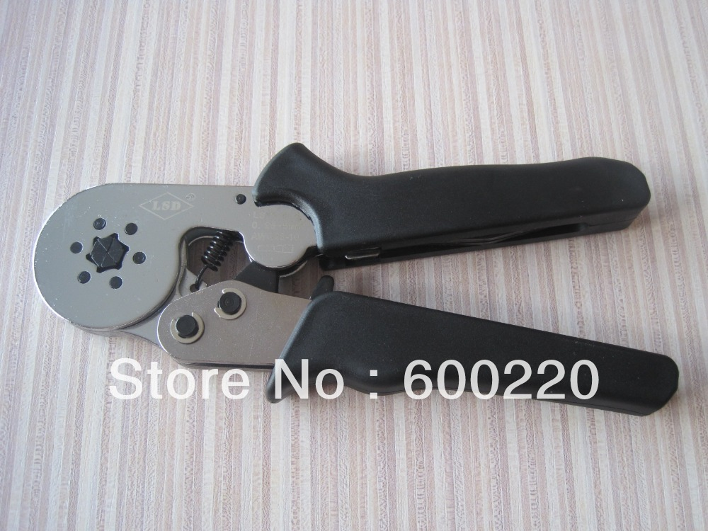 crimping tool crimp tools lsc8 6 6 self adjusting crimping pliers for cable ferrules in pliers. Black Bedroom Furniture Sets. Home Design Ideas