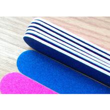 100 шт./компл. 1.3 * 5 см профессиональный пилочки для ногтей буфера полировка тонкий полумесяц ногтей инструменты одноразовые пилочка для ногтей