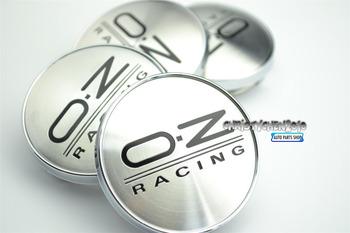 4PC X 60mm OZ Racing Auto Wheel Center Badge for VW Car Wheel Center Caps Alloy Emblem w37bk