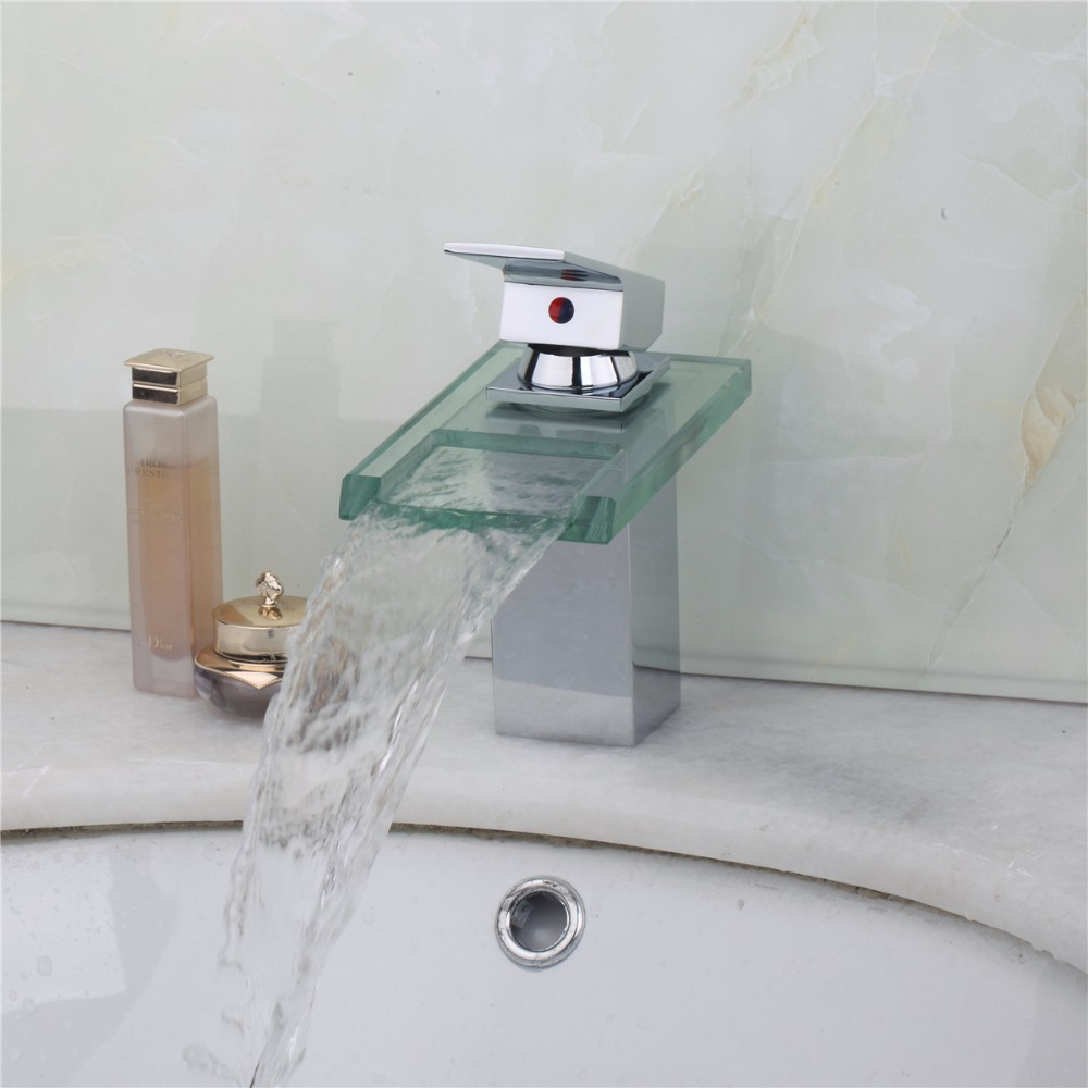 Chrome Hot Cold Hole Mixer Sink Water Tap Basin Kitchen Wash Basin Faucet  Single Handle. Compare Prices on Water Tap Basin Kitchen Bathroom Wash Basin