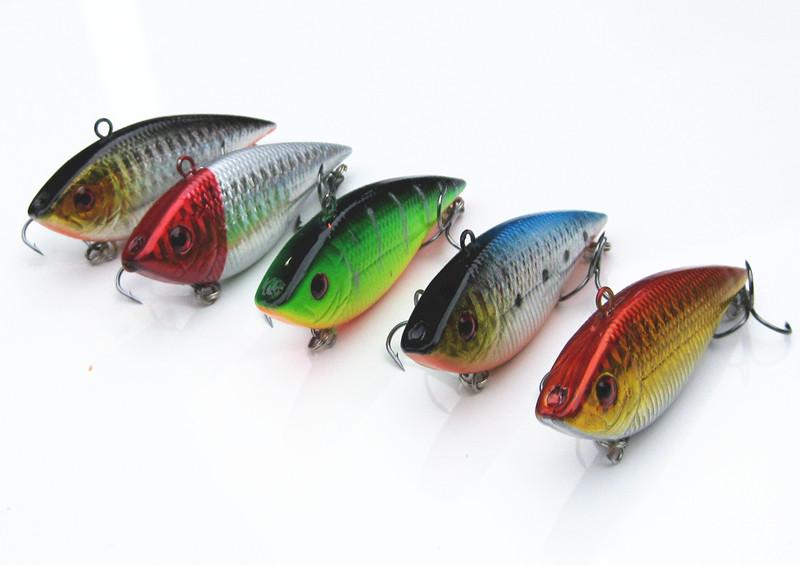 Приманка для рыбалки TIMETOWER 5pcs/vib 7 /10.5 g Swimbait lure-015