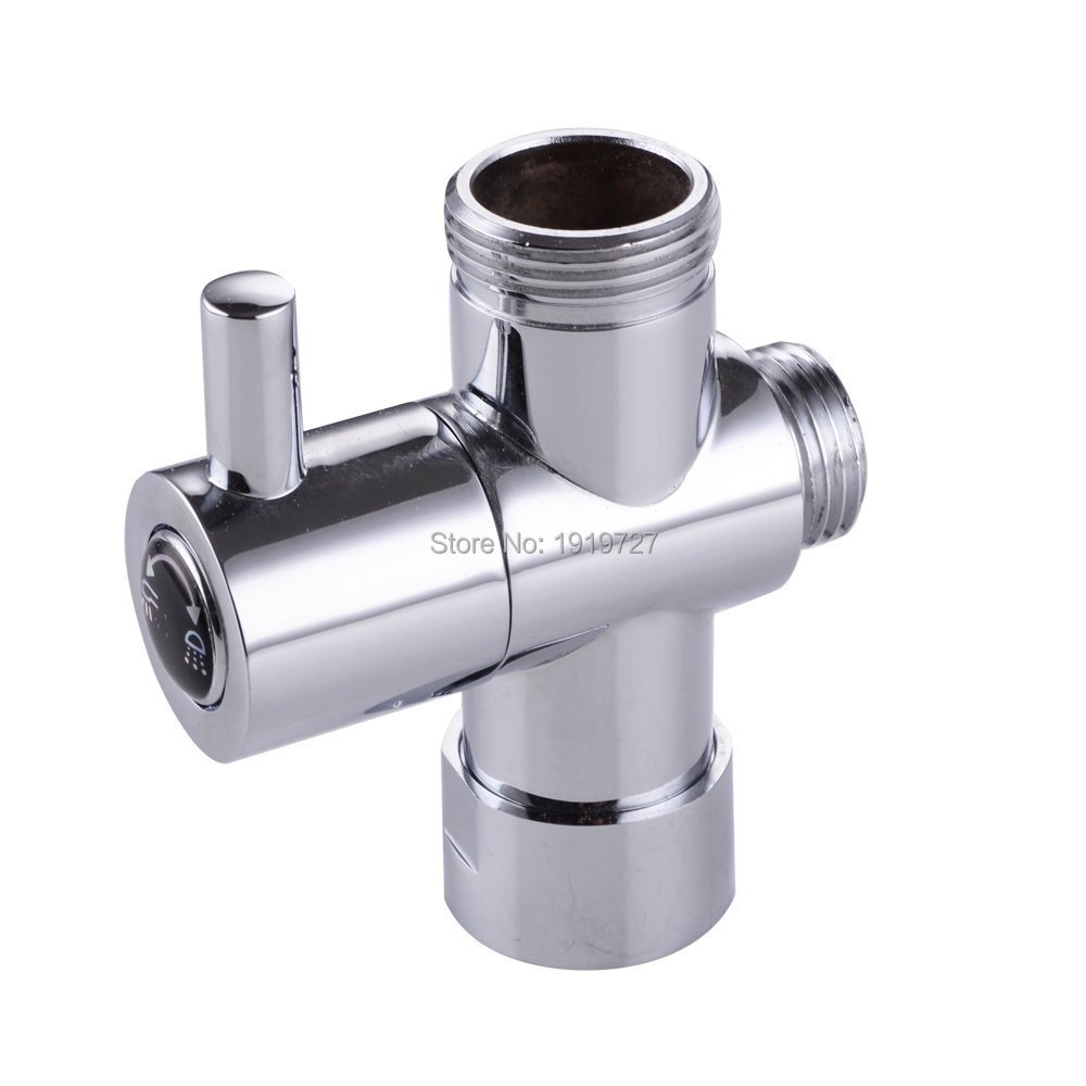 way shower head diverter valve g3 4 three way copper adapter valve