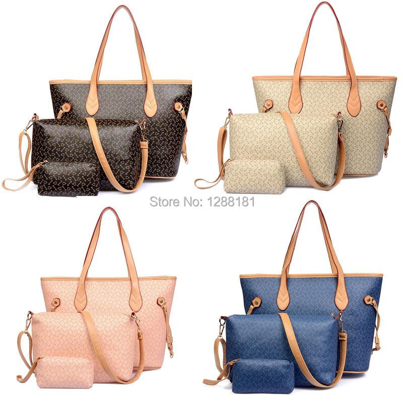 2015 New style Hot sale simulated leather texture PU women handbag freeshipping buy 1 get 2 free(China (Mainland))