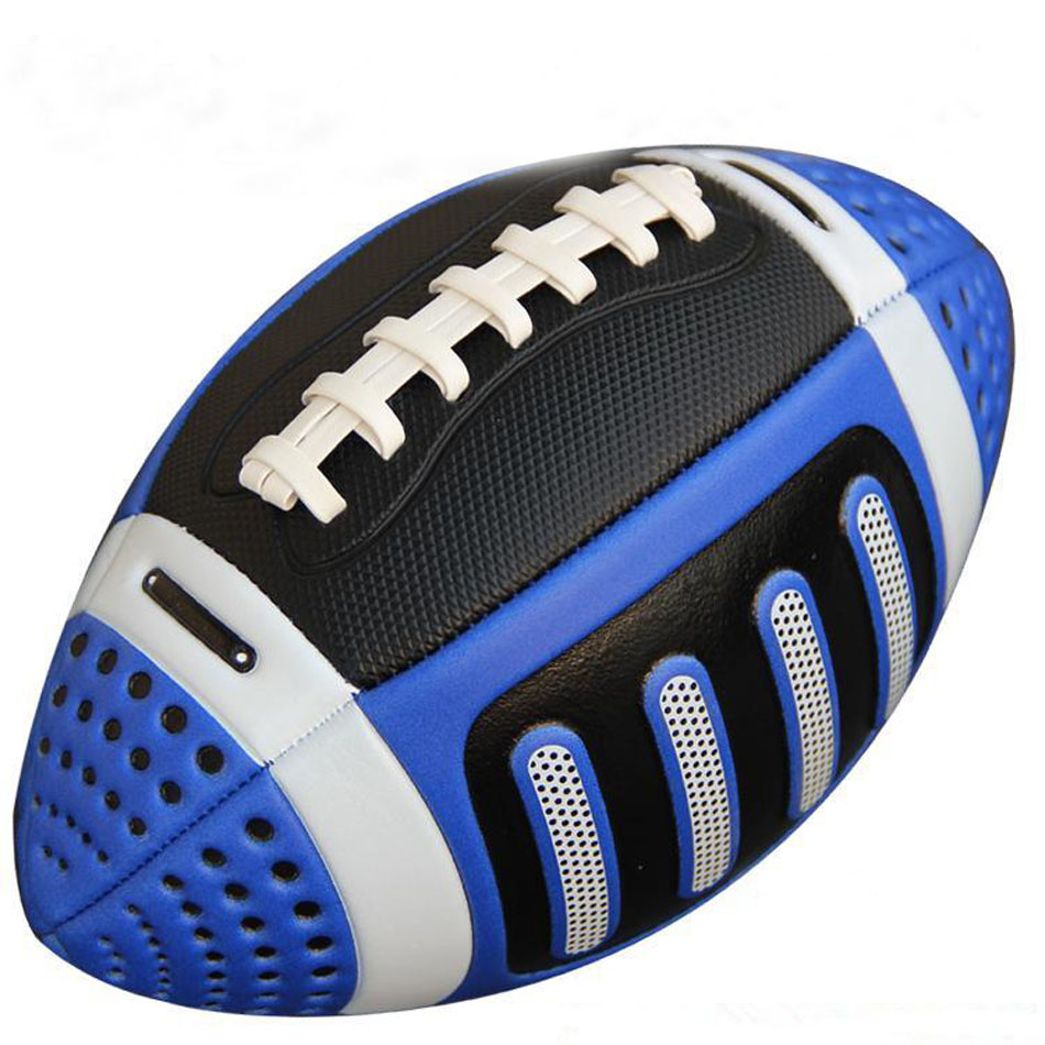 American Football Rugby Ball Bola Children's Size 3 Kids Beach Rugby Ball For Training And Match Four Color Free Shipping(China (Mainland))