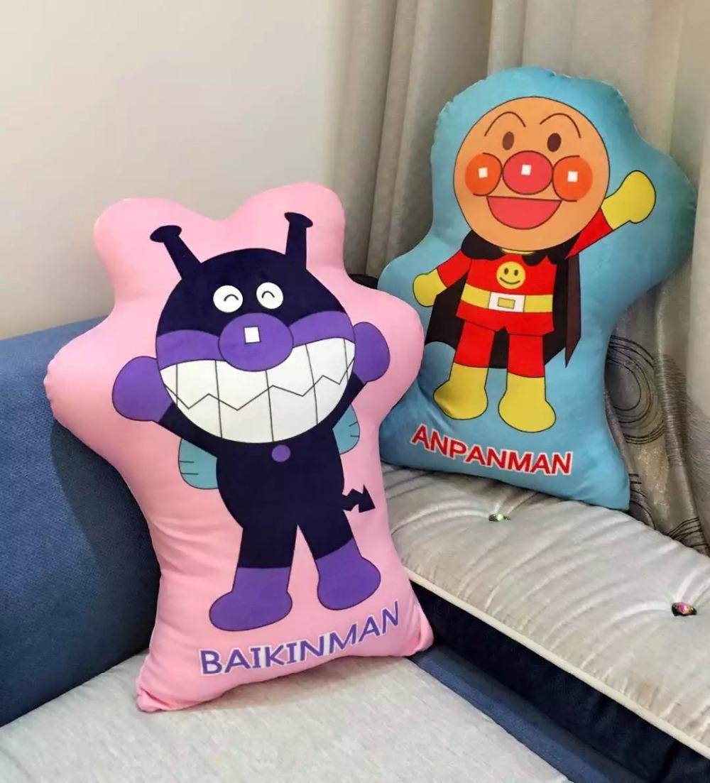 Кэндис го! новый стиль плюшевые игрушки куклы Anpanman Baikinman фаршированные подушка подушка творческий подарок на день рождения 1 шт. женские часы go girl only go 694925