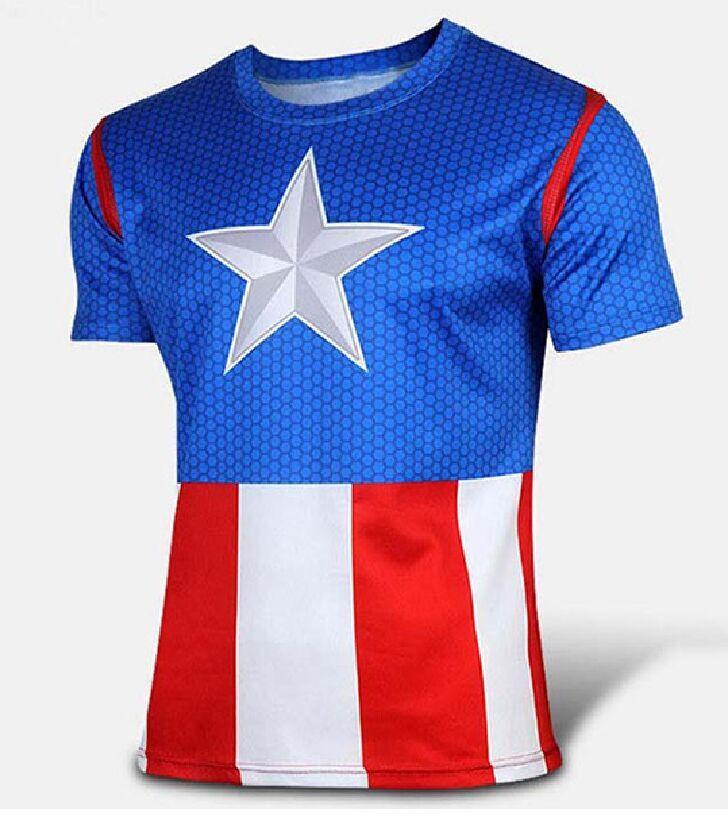 Marvel captain america deadpool hawkeye hulk super hero for Hulk fishing shirts
