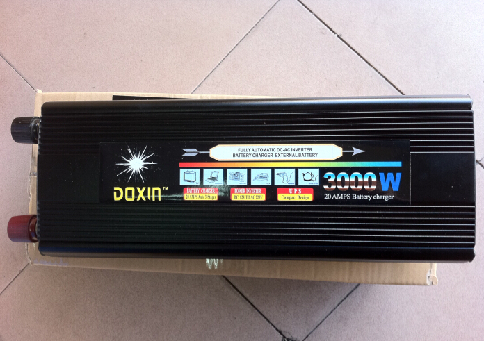 uninterrupted power supply ups 3000w ups inverter automatic charge 12v to 220v(China (Mainland))