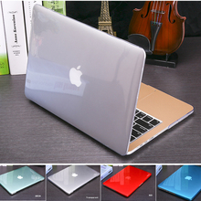 2016 New Crystal Matte Transparent case For Apple Mac book Air Pro Retina 11 12 13 15 laptop bag for Macbook Air 13 Case cover(China (Mainland))