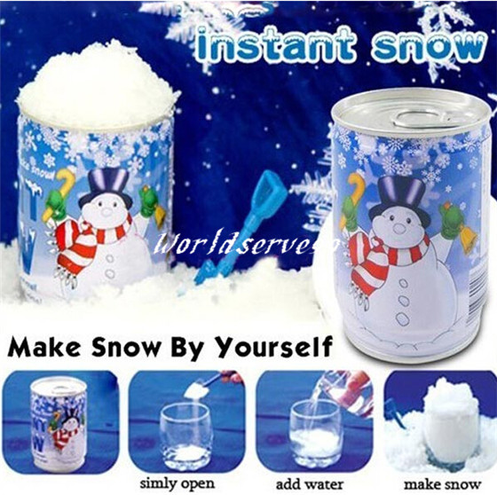 Buy canned instant magic snow fake for Artificial snow decoration