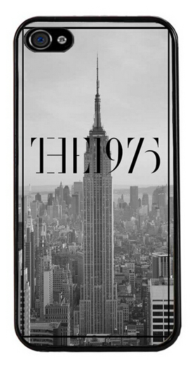 1pcs The 1975 English Manchester Indie Rock Pop Power Band Cell Phone Cases Hard Back cover for iphone 4s 5s 5c 6 6 plus(China (Mainland))