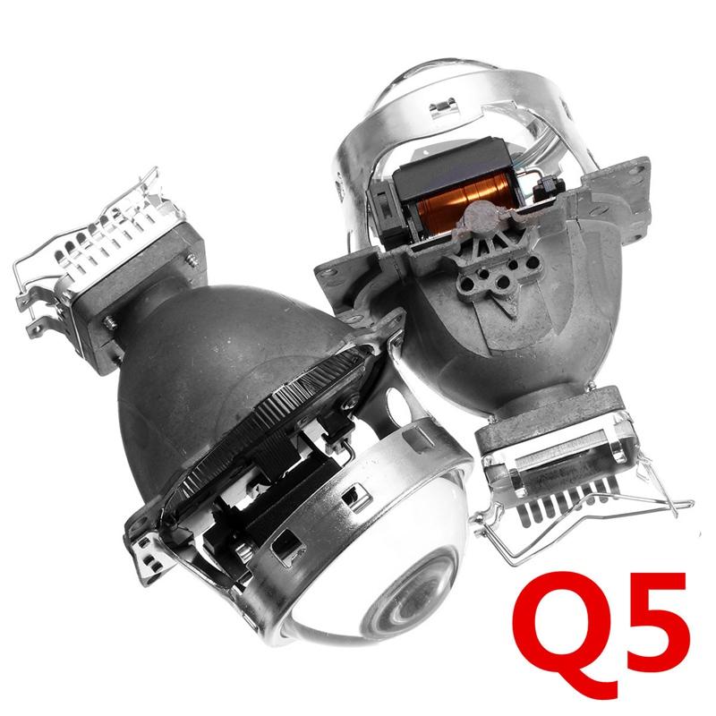 Купить Горячая Для Hid Bi Xenon Объектив Проектора LHD для Фар Автомобиля 3.0 Koito Q5 35 Вт Можно Использовать с D1S D2S D2H D3S D4S