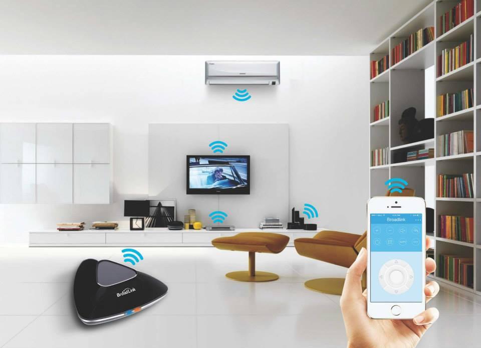 7---Broadlink Remote Control Rm Pro RM2, Smart Home Universal Intelligent Controller,
