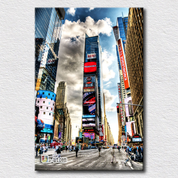 Modern New York painting special design canvas wall art pictures on canvas(China (Mainland))
