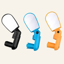 Bicycle Cycling Mini Handlebar End Back View Mirror Rotatable Flexible Rearview Mirror Glasses Mountain Road Bike Accessories