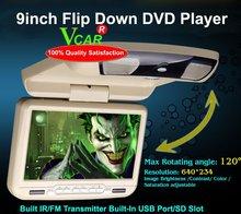 9 inch car flip Down DVD Player(China (Mainland))