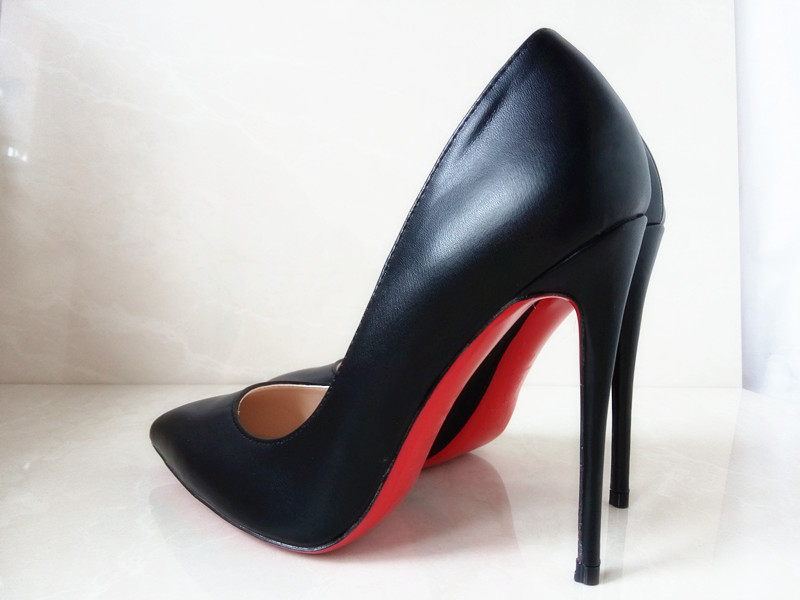black pumps with red soles discount red bottom shoes black heels