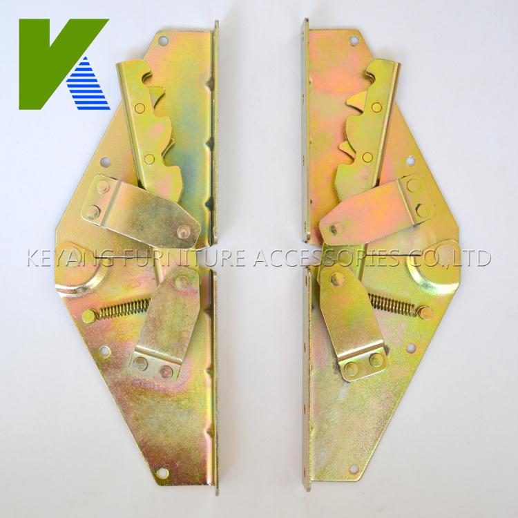 Adjustable Furniture Hardware Part Folding Sofa Bed Hinges KYA021(China (Mainland))