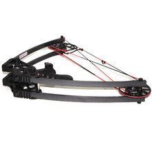 RH LH HAN Triangle Hunting Compound Bow and Arrow sets 5 pin sight release bag Hunting
