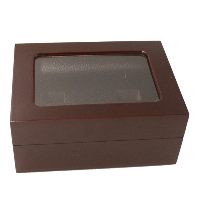 Promotion Solid Wooden Boxes 2/3/4/5/6/7 Holes Championship Rings Boxes,championship ring display case/box/organizer(China (Mainland))