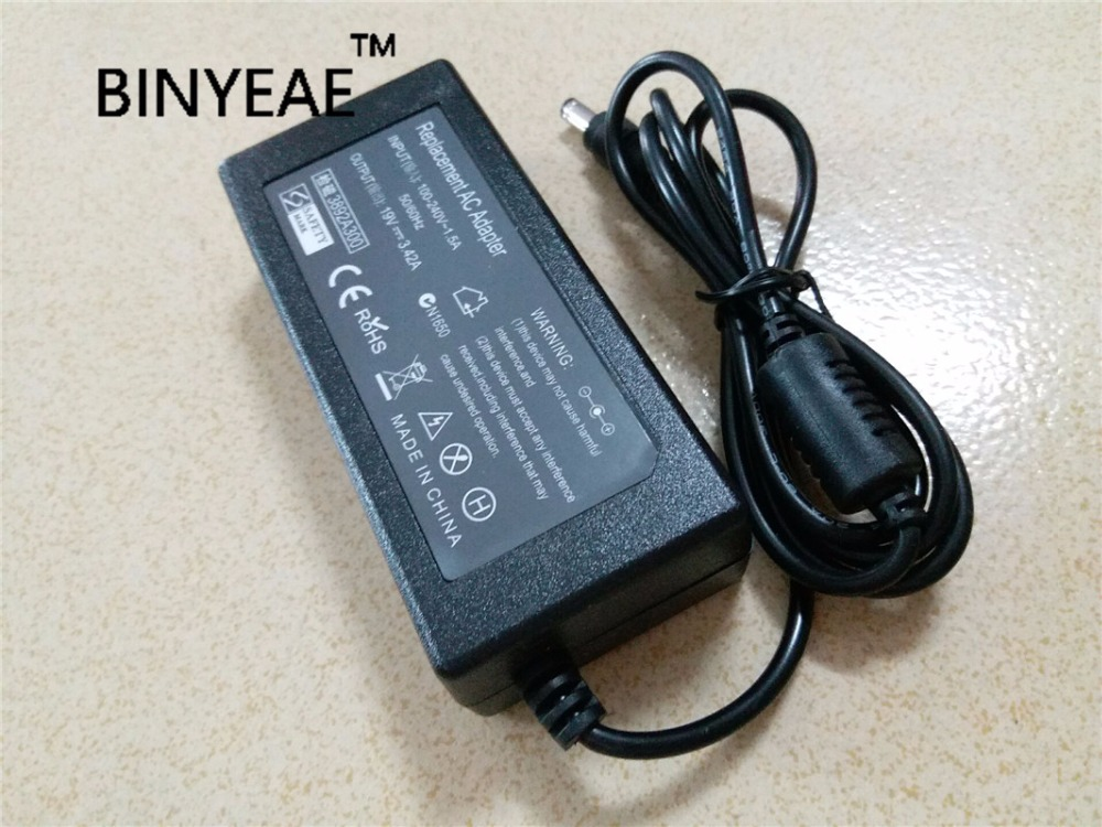 19V 3.42A 65w Universal AC Adapter Battery Charger for Advent 5313 5421 5431 Laptop Free Shipping(China (Mainland))