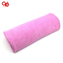 New Soft Pink Nail Art Small Hand Rests Pillow Cushion(China (Mainland))