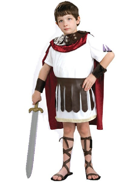 Resultado de imagen para trajes de gladiadores romanos para niños