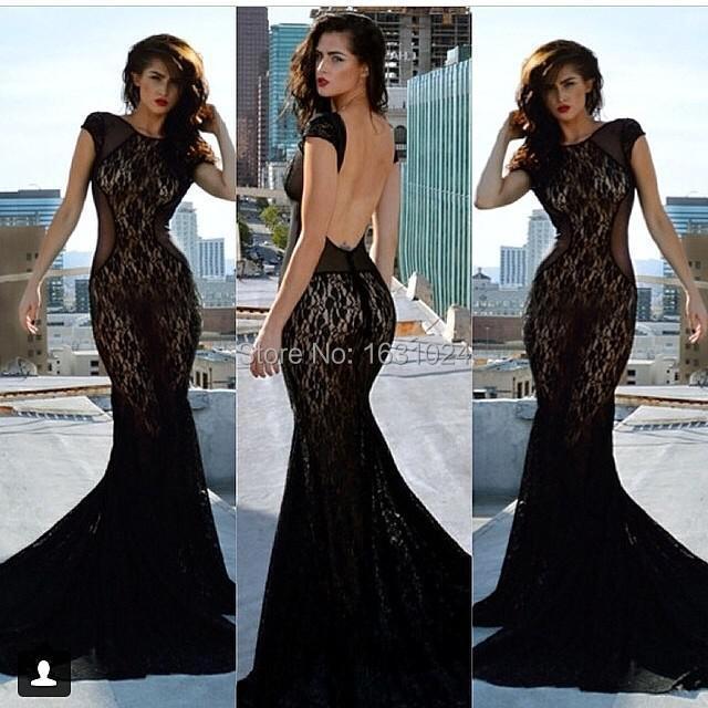 cap sleeve open back prom dress « Bella Forte Glass Studio
