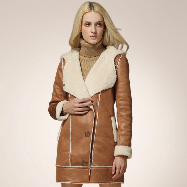 2016 новинка женщины мех пальто соединение берберские верхняя одежда пальто для женщин ...
