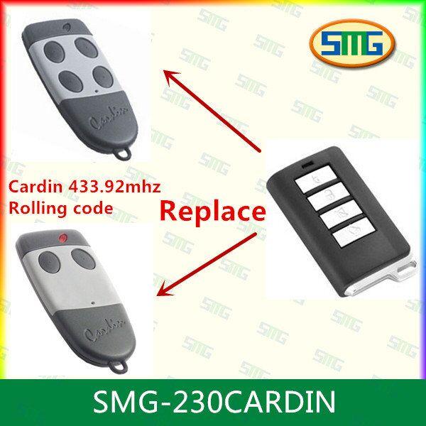 10piece* garage gate remote control 433.92 keyring size CARDIN S476 TX2 CARDIN S476 TX4(China (Mainland))