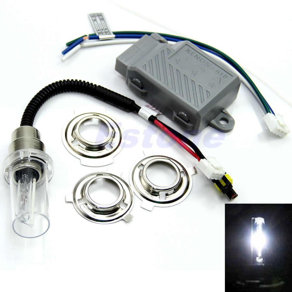 E93+Motorcycle Motorbike Headlight Hid Kits Light Bulb H6 6000K 35W Xenon Lamp(China (Mainland))