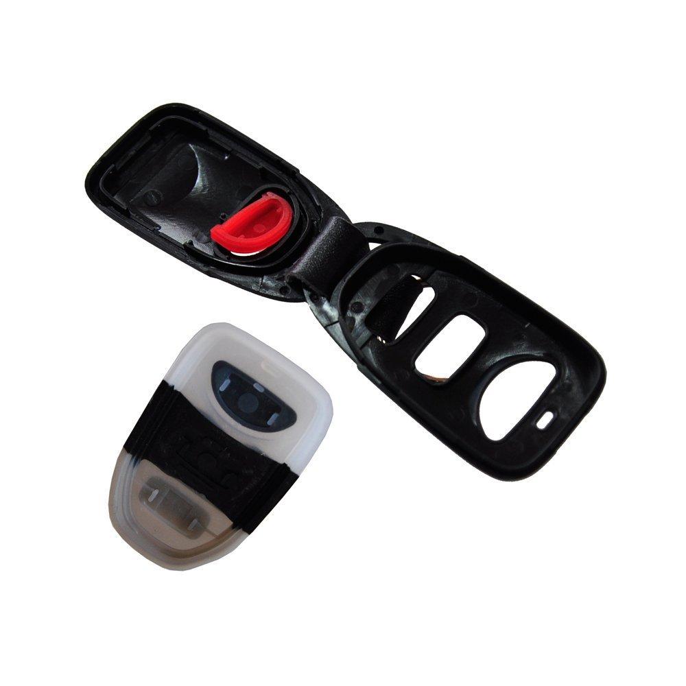 Hyundai Sonata Key Replacement: Keyless 4 Buttons Smart Key Shell Case For HYUNDAI Santa