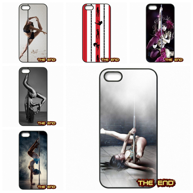 Amazing Pole dancing Fitness Hard Phone Coque Covers For Apple iPhone 4 4S 5 5C SE 6 6S Plus 4.7 5.5 iPod Touch 4 5 6(China (Mainland))