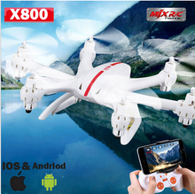 Nano Quadcopter MJX X800 Drone 2.4G 4CH 6-Axis RC Helicopter Mini Quadcopter Drones with Flaslight(Black,White)
