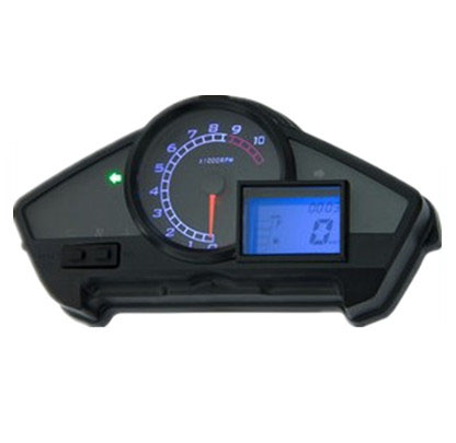 Фотография High-end Motorcycle Digital Odometer Speedometer Tachometer Gear Indicator parts Modified motorcycle electronic digital meter