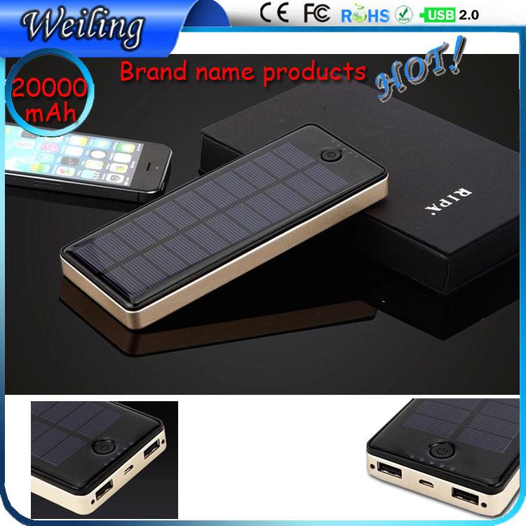 High-end gold Gift AC Power Bank 20000mah aluminum power bank for smartphone/ipad Bank Power(China (Mainland))