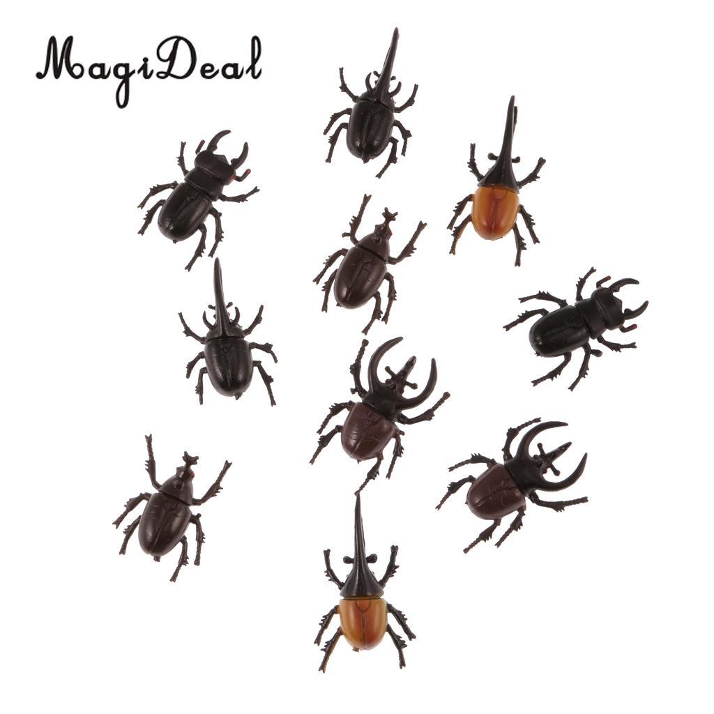 Lot 12 Plastic Vivid Spider Insect Model Animal Kids Party Favor Bag Filler