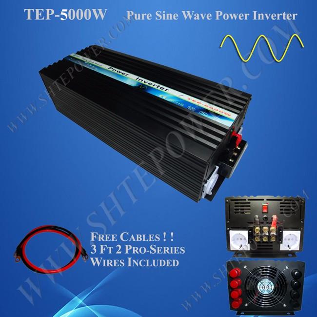 Off Grid Pure Sine Wave 5kw Power Inverter 5000 Watt 48V 110V(China (Mainland))