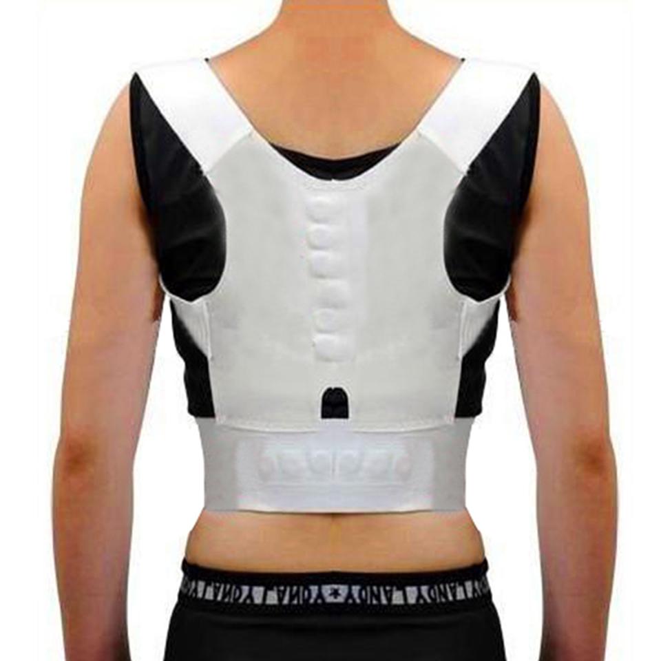 Neoprene Magnetic Back Posture Corrector Belt For Men Women Back Straightener Shoulder Belt Correcteur De Posture Pour Femme(China (Mainland))