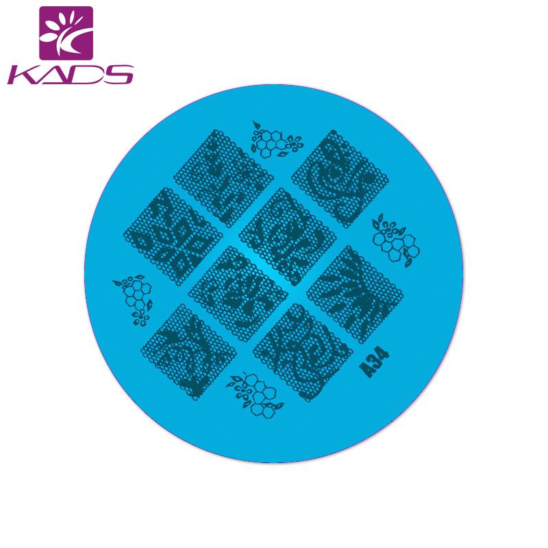 KADS 1/PCS New Digital Design Pretty Good Nail Art Stainless Steel Stamp Template Manicure Image Plates Tools nail polish(China (Mainland))
