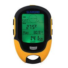 Waterproof FR500 Digital Compass Multifunction LCD Digital Altimeter Barometer Digital Compass Free Shipping(China (Mainland))