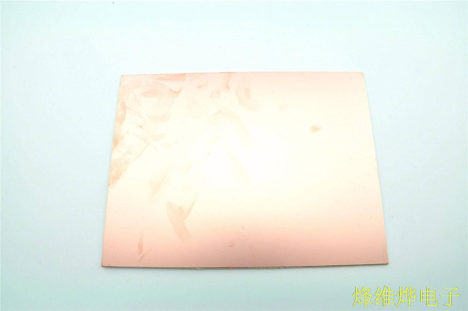 Double sided copper clad laminate 15*20CM experimental board glass fiber material thickness 1.6MM(China (Mainland))
