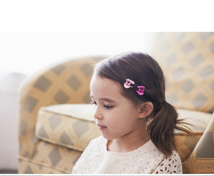 10PCS/Lot New Korean Fashion Girls Small Hair Claw Cute Candy Color Hair Clip Children Hairpin Hair Accessories Kids Present
