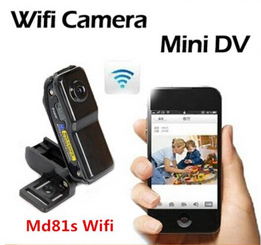 Mini camcorders cam Md81S WiFi camera mini dv dvr camera wifi camcorder Video Record wifi hd mini camera Wireless IP Camera(China (Mainland))