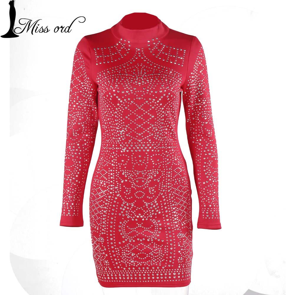 Free Shipping 2015 Black Friday Sales Geometric retro Rhinestone high-necked long-sleeved bodycon  tight dress  FT2838-1Одежда и ак�е��уары<br><br><br>Aliexpress