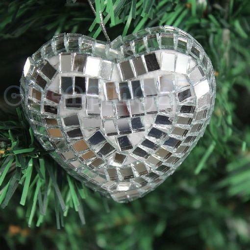Heart Christmas Tree Ornaments Xmas Heart Christmas Tree