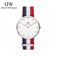 36mm for women ladies daniel wellington silver one nylon leather band daniel wellington watch quartz wristwatch dw orologi donna